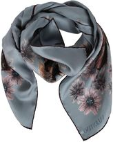 Valentino Butterfly Printed Scarf