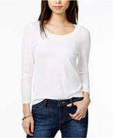 Tommy Hilfiger Scoop-Neck Sweater, Only at Macy's