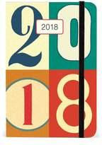 Cavallini & Co. Cavallini AG2018/123 Vintage Numbers Weekly Planner 2018