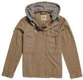 Superdry Cotton Hooded Parka for Mid-Season