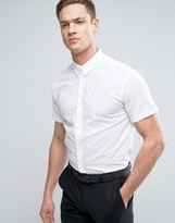 Selected Slim Smart Short Sleeve Shirt