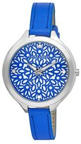 Laura Ashley Women's LA31023BL Analog Display Quartz Blue Watch