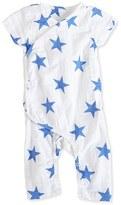 Aden Anais Infant Boy's Aden + Anais Short Sleeve Kimono Romper