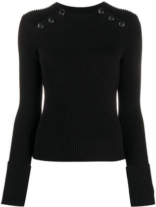 Etoile Isabel Marant Fine Knit Button Jumper