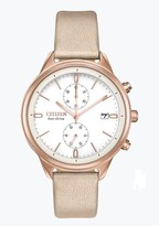 Citizen Women's Standard Vegan Leather Eco-Drive Watch, 39mm