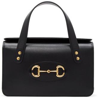 Gucci Black 1955 Horsebit Top Handle Bag