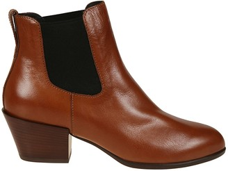 Hogan Elasticated Side Ankle Boots