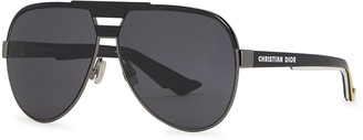 Christian Dior DiorForeRunner aviator-style sunglasses