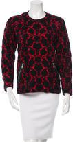 Louis Vuitton Jacquard Wool-Blend Sweater