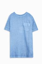 120% Lino Crew Neck Pocket T-Shirt