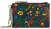 Alice + Olivia Chelsea Wildflower Zip Pouch Key Charm