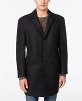 Bar III Slim-Fit Overcoat