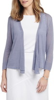 Nic+Zoe 4-Way Convertible Three Quarter Sleeve Cardigan