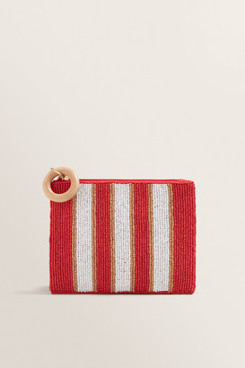 Seed Heritage Beaded Pouch