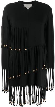 Frankie Morello Fringed Bead Dress