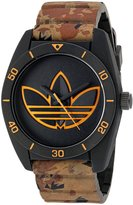 adidas Men's 'Santiago' Quartz Rubber and Silicone Casual Watch, Color: (Model: ADH3200)