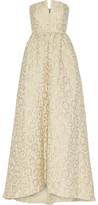 Alice + Olivia Axmis Jacquard Gown