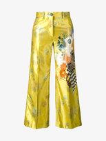 Dries Van Noten Powell floral print trousers