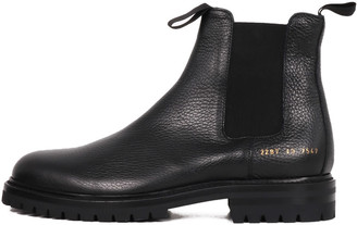 Common Projects Chelsea Boots Black