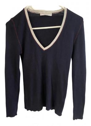 Brunello Cucinelli Blue Cashmere Knitwear