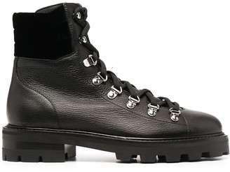 Jimmy Choo Eshe hiker-style flat boots