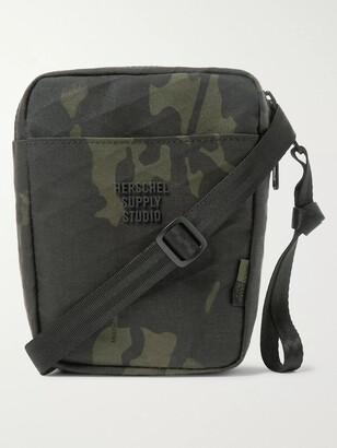 Herschel Cruz Camouflage-Print Sailcloth Messenger Bag