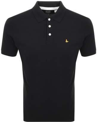 Jack Wills Bainlow Polo T Shirt Black