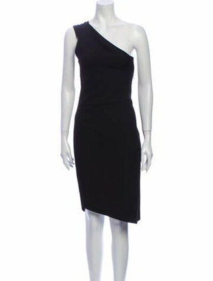 Narciso Rodriguez 2019 Knee-Length Dress Black