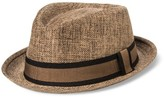 Bioworld Men's Fedora With Band - Brown