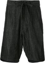 Numero 00 Numero00 - drawstring denim shorts - men - Cotton - S