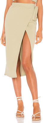 Privacy Please Catalina Midi Skirt