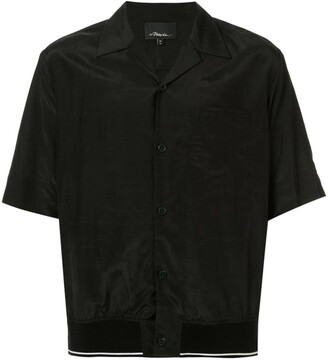 3.1 Phillip Lim Ribbed-Hem Souvenir Shirt