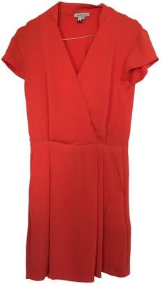 Surface to Air Orange Silk Dress for Women
