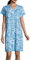 Miss Elaine By Short Sleeve Robe