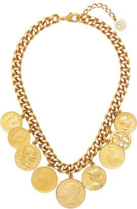 Ben-Amun Women's Gold-Plated Coin Necklace - Gold - Moda Operandi