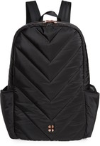 Sweaty Betty Icon Quilted Black Backpack