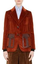 Prada Corduroy Cotton Blazer