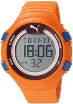 Puma Unisex PU911281002 Faas 100 L orange Digital Display Watch