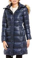 Kate Spade Soft Down Detatchable Faux-Fur Hood Walker Coat