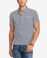 Polo Ralph Lauren Men's Slim Fit Striped Popover Shirt
