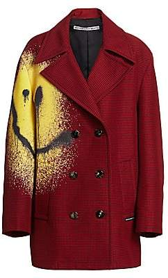 Alexander Wang Women's Happy Face Peacoat