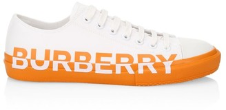 Burberry Larkhall Logo Low-Top Sneakers