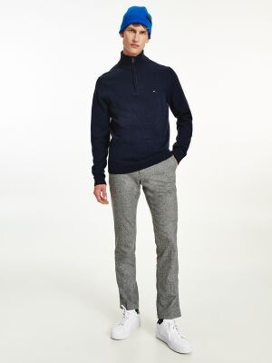 Tommy Hilfiger Half Zip High Neck Jumper