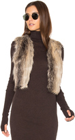BB Dakota Jack By Loree Faux Fur Vest