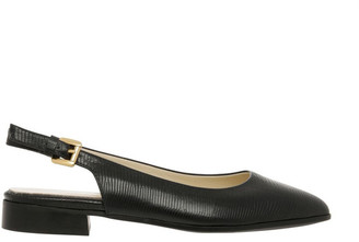 Innovare Made in Italy Cora Black Flat Shoes