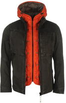 G Star G Deline Hooded Liner Field Over Shirt Jacket
