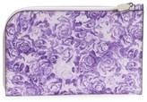 Ganni Floral Leather Wallet