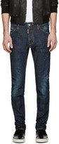 DSQUARED2 Blue Dark Easy Cool Guy Jeans