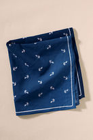 Lands' End NQP Women's Anchor Handkerchief