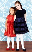 Oscar de la Renta Velvet And Taffeta Party Dress